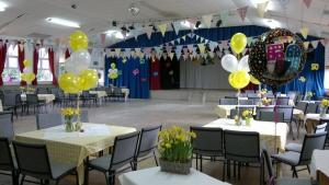 Main Hall Party Decor