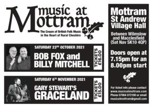 Music at Mottram poster